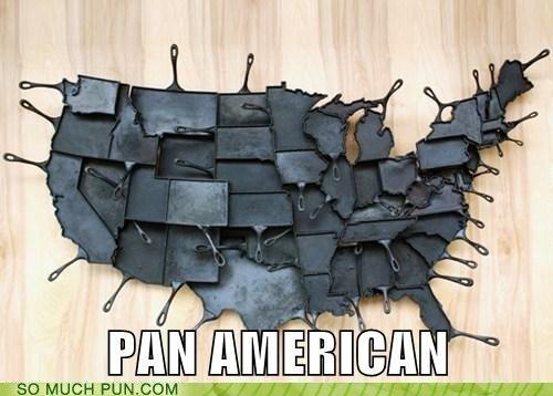 Pan-American Map