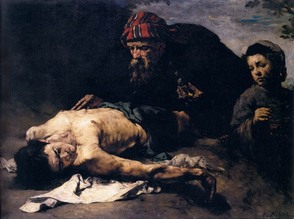 Théodule-Augustin-Ribot-The-Good-Samaritan
