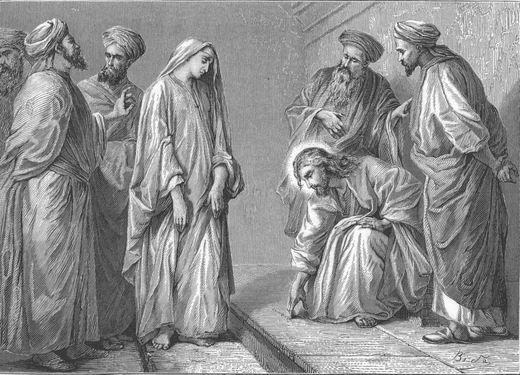 Go and Sin No More – Misinterpreting Jesus and the Woman