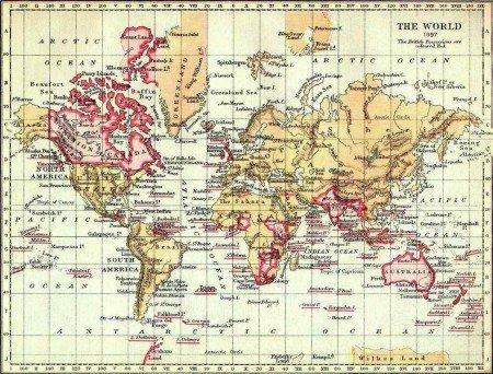 British Empire in 1897